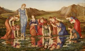 Edward Burne-Jones_The mirror of Venus